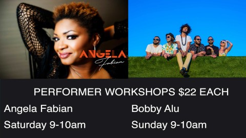 UNIQUE AND INSPIRING PERFORMER WORKSHOPS AT FESTIVAL